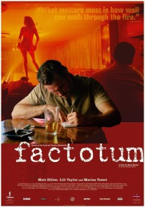 """Poster for the movie """"Factotum"""""""