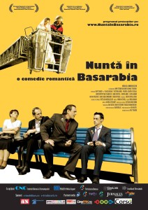 """Poster for the movie """"Wedding in Basarabia"""""""