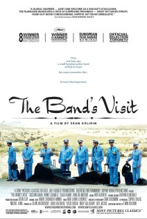 """Poster for the movie """"The Band's Visit"""""""
