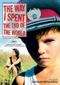 """Poster for the movie """"The Way I Spent the End of the World"""""""