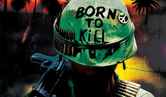 """Poster for the movie """"Full Metal Jacket"""""""