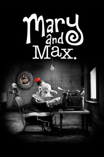 """Poster for the movie """"Mary and Max"""""""