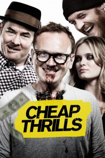 """Poster for the movie """"Cheap Thrills"""""""