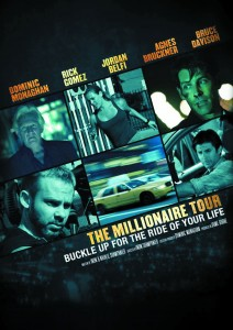 """Poster for the movie """"The Millionaire Tour"""""""