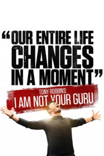 """Poster for the movie """"Tony Robbins: I Am Not Your Guru"""""""