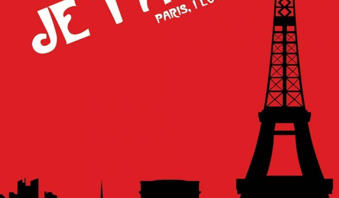 """Poster for the movie """"Paris, je t'aime"""""""