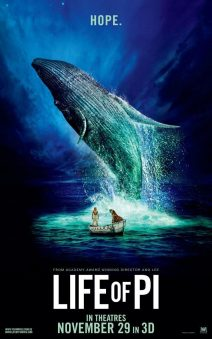 "Poster for the movie ""Life of Pi"""