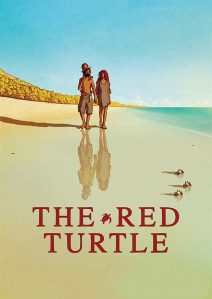 "Poster for the movie ""The Red Turtle"""