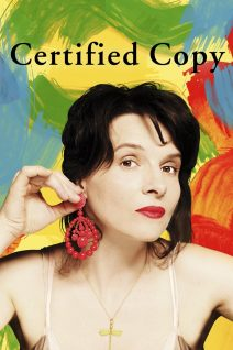 """Poster for the movie """"Certified Copy"""""""