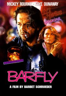 "Poster for the movie ""Barfly"""
