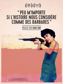 "Poster for the movie ""I Do Not Care If We Go Down in History as Barbarians"""