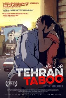 "Poster for the movie ""Tehran Taboo"""