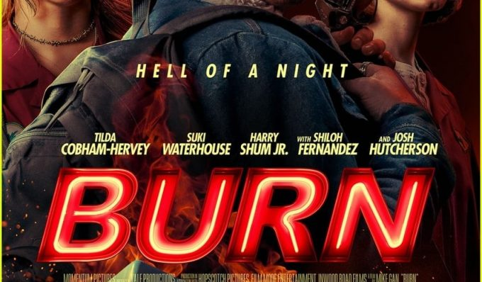 """Poster for the movie """"Burn"""""""