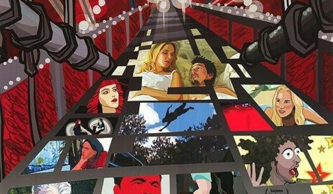 """Poster for the movie """"Waking Life"""""""