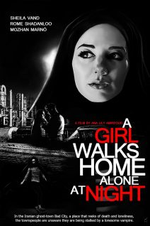 "Poster for the movie ""A Girl Walks Home Alone at Night"""