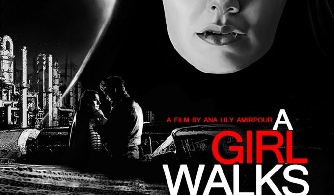 """Poster for the movie """"A Girl Walks Home Alone at Night"""""""
