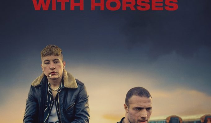 """Poster for the movie """"Calm with Horses"""""""