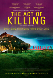 "Poster for the movie ""The Act of Killing"""