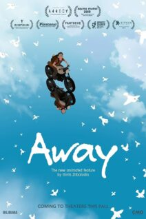 "Poster for the movie ""Away"""