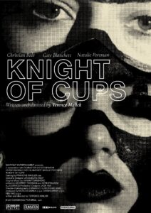 "Poster for the movie ""Knight of Cups"""