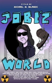 "Poster for the movie ""Jobe'z World"""