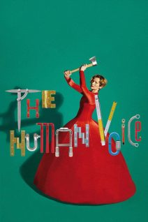 """Poster for the movie """"The Human Voice"""""""